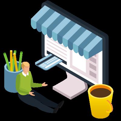 Création de site e-commerce - Panier de Pixels