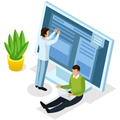 Création de site vitrine - Panier de Pixels