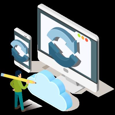 Maintenance Backup Mise à jour de votre site - Panier de Pixels