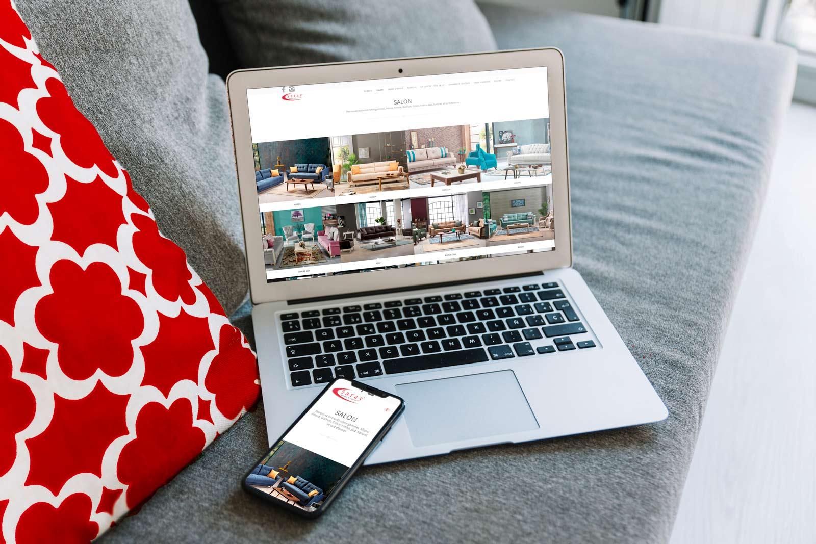 création site meubles cuisines saray
