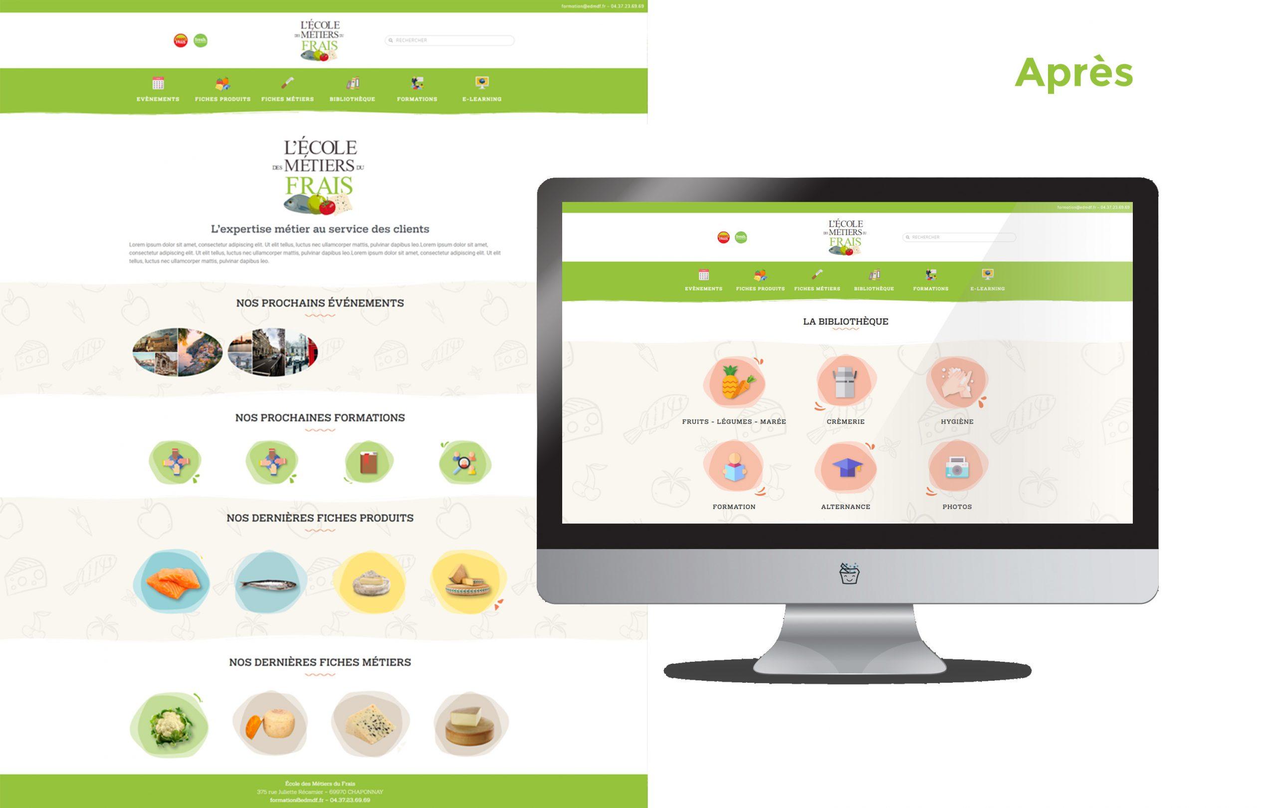 Creation Site Web Grand Frais