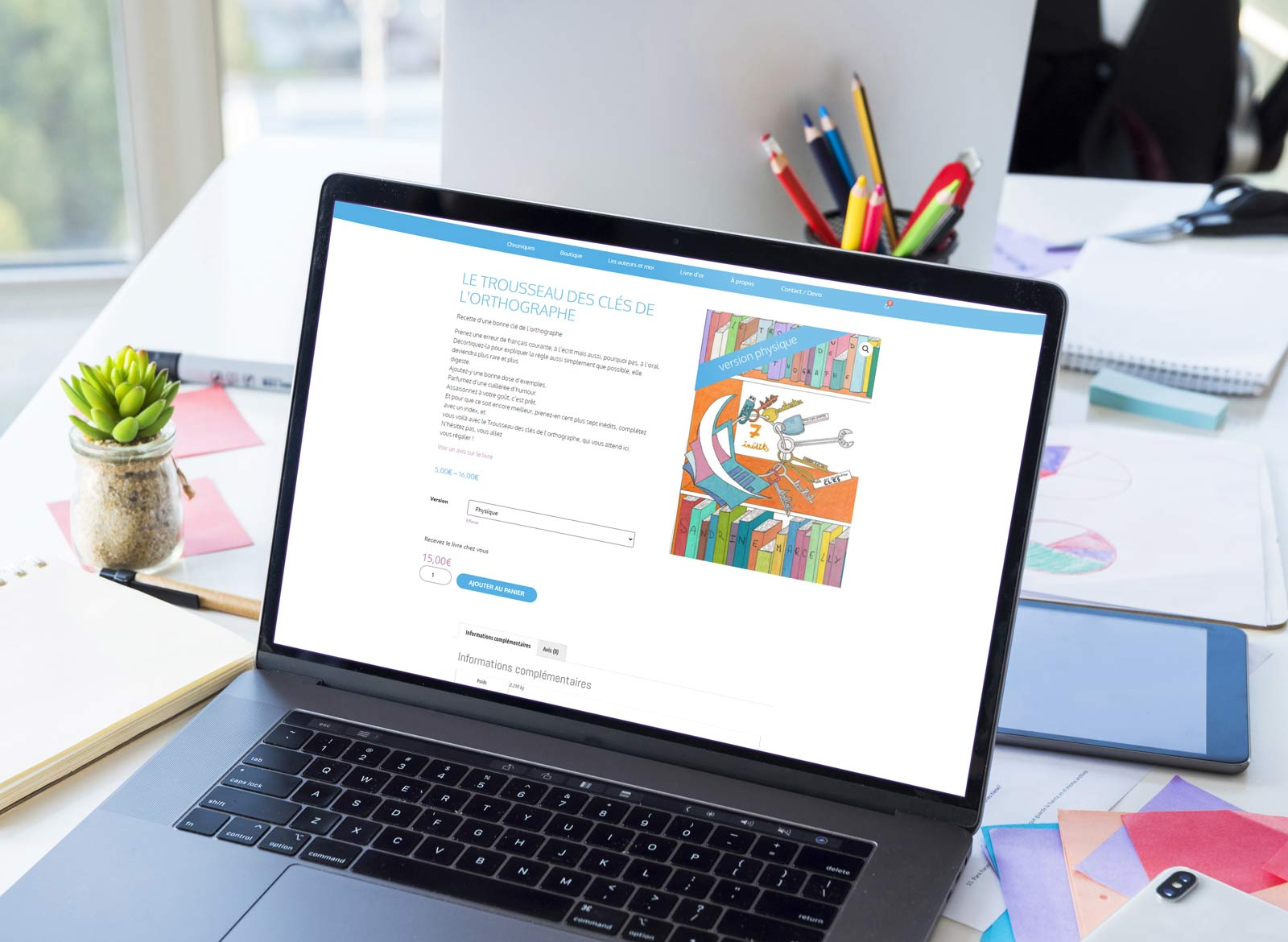 Création site web ABCorrecteur