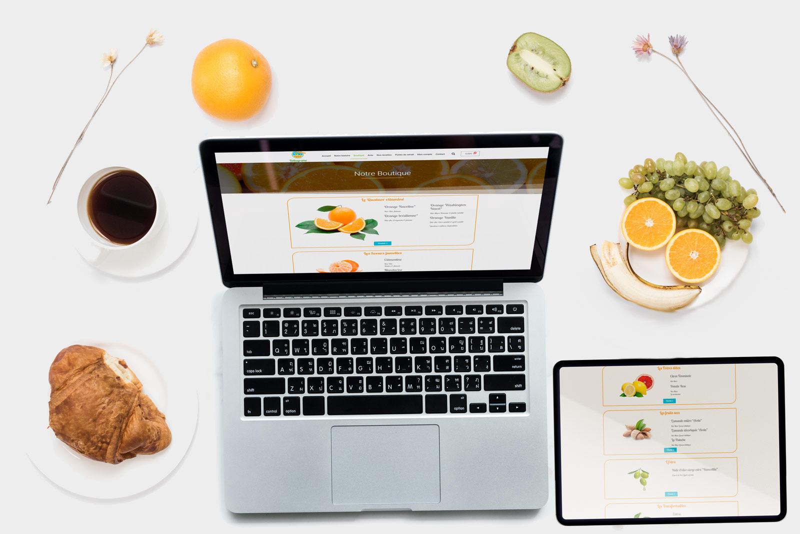 Bellagrume Creation Site e-commerce